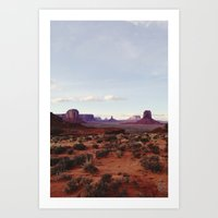 Monument Valley View Art Print