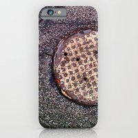 iPhone & iPod Case featuring The sewer. by John Martino