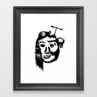 Koala Girl! Framed Art Print