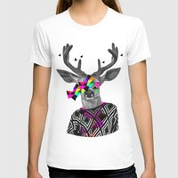 WWWW Womens Fitted Tee White SMALL