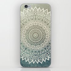 AUTUMN LEAVES MANDALA iPhone & iPod Skin