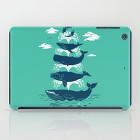 Whale Of A Time iPad Case