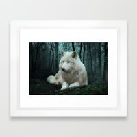 Wolf Framed Art Print