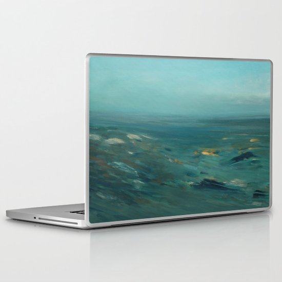 coastal impression Laptop & iPad Skin
