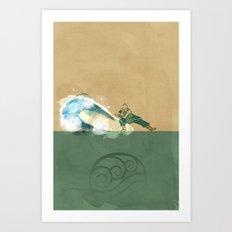 Avatar Korra Art Print