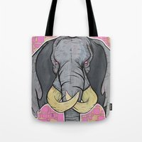 Tote Bag featuring Elly Bust by Tom Ryan's Studio