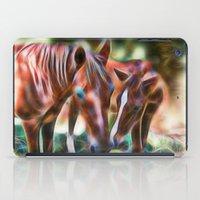 Horse Kisses iPad Case
