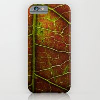 iPhone & iPod Case featuring Autumn texture by Nina