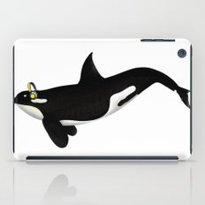 Killer Whale Headphones iPad Case