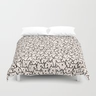 A Lot Of Cats Duvet Cover
