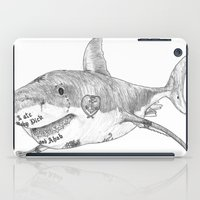 Shark Prank iPad Case