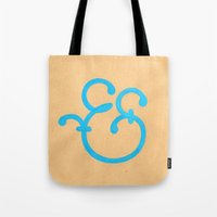 Handmade Ampersand  Tote Bag