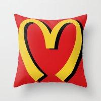McDonald's MOSCHINO Throw Pillow