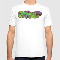 Emote Mens Fitted Tee White SMALL