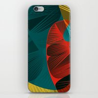 Spring Is For Feathers iPhone & iPod Skin
