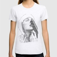Gun control Womens Fitted Tee Ash Grey SMALL