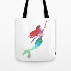 Ariel Little Mermaid Tote Bag