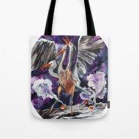 Three-headed Evil Bird God! Tote Bag