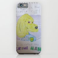 iPhone & iPod Case featuring Bootleg Series: Crime Man by New Rustic Future