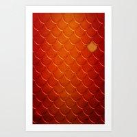Smaug Art Print