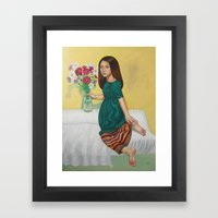Autumn Cosmos Framed Art Print
