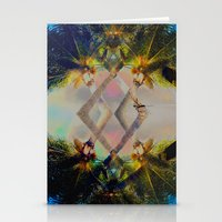 Overlapping Palms Stationery Cards