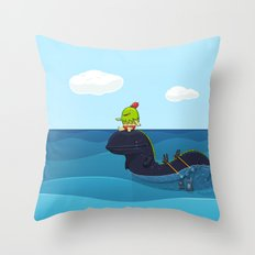 Game Hunter Throw Pillow