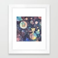 i just called to say i heart you Framed Art Print