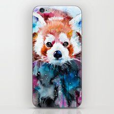 Red panda iPhone & iPod Skin