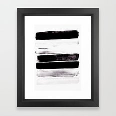Stack V Framed Art Print
