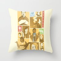 Parks & Rec Throw Pillow