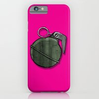 iPhone & iPod Case featuring Frag Out!!!! by AWOwens