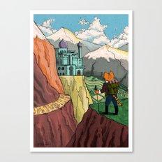 The Lost Horizon Canvas Print