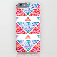 iPhone Cases featuring Watermelon Sky  by ChristineMay
