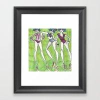 trio Framed Art Print