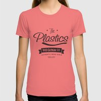 The Plastics - From The … Womens Fitted Tee Pomegranate SMALL
