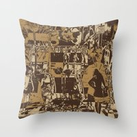 One Sunday Afternoon Throw Pillow