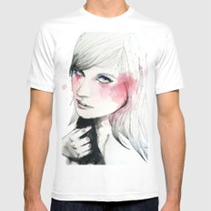 Ania SMALL White Mens Fitted Tee