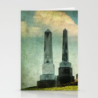 Headstones Stationery Cards