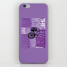 The Most Efficient Machine iPhone & iPod Skin