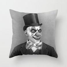 THERE WAS SOMETHING ODD ABOUT PAPPY Throw Pillow