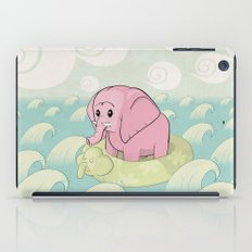 Elephant Across the Sea iPad Case