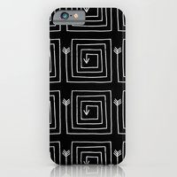 iPhone Cases featuring Square Arrow by Terry Fan
