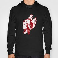 Angel of Mercy, Traditional American Tattoo Design Hoody