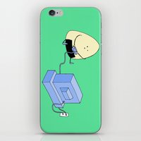 Onigiri video games! iPhone & iPod Skin