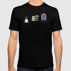 Gothic Villains Black SMALL Mens Fitted Tee