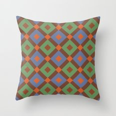 Not Your Mother's Wallpaper Throw Pillow
