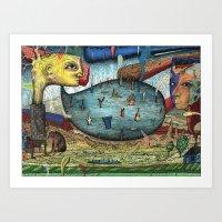 The Stagnant Pool Art Print