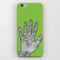 Handprint iPhone & iPod Skin