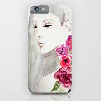 Face&flowers iPhone 6 Slim Case